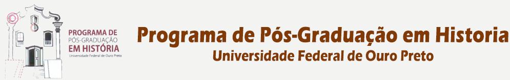 Programa de Pós-Graduação em História