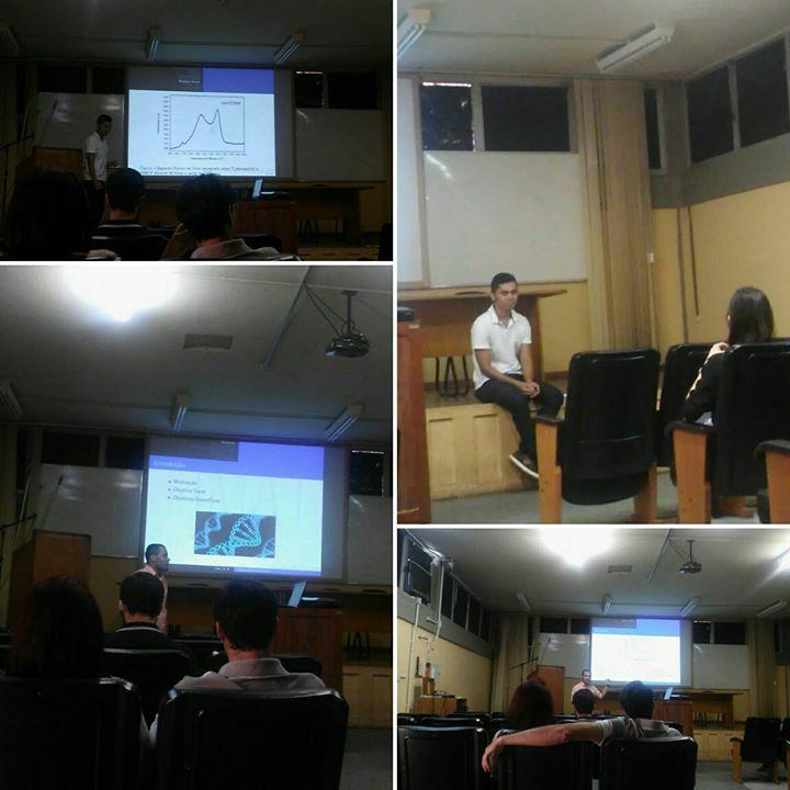 Qualificação dos alunos Mário Almeida e Adelson Sales