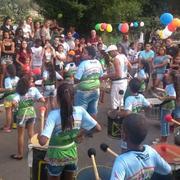 """AME em parceria com o Rotaract promove um evento intitulado """"FELIZ IDADE: CRIANÇAS E IDOSOS BRINCANDO JUNTOS"""" para a comunidade do Vila Tanque"""
