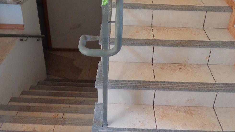 Escada interna das casas