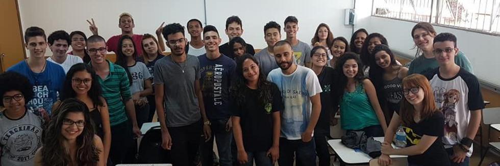 Sejam Bem-vindos alunos de física 2018.1